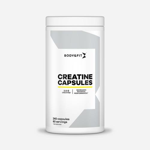 Creatine kapslar - Body & Fit - 240 Kapslar