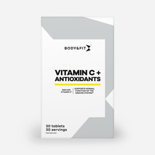 Vitamin C + Antioxidants - Body & Fit - 30 Tabletter