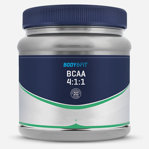 BCAA 4: 1: 1 - Body & Fit - Utan Smak - 500 Gram (100 Doser)
