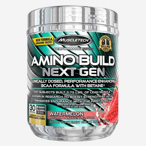Amino Build Next Gen - Muscletech - Vattenmelon - 276 Gram (30 Doser)