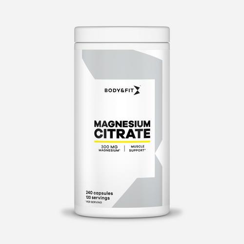 Magnesium Citrate - Body & Fit - 240 Kapslar