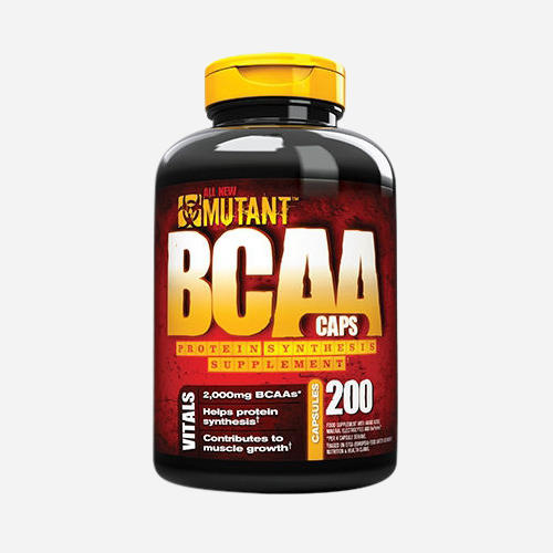 Mutant BCAA Caps - Mutant - 200 Kapslar
