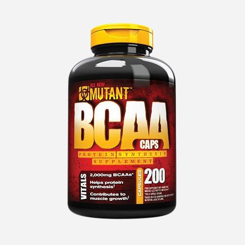 Mutant BCAA Caps - Mutant - 400 Kapslar