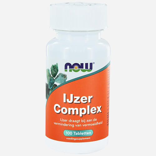 Iron Complex - Now Foods - 100 Tabletter
