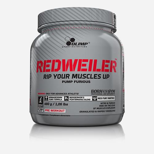 Redweiler - Olimp Supplements - Blåbärsgalenskap - 480 Gram (80 Doser)