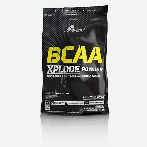 BCAA Xplode - Olimp Supplements - Fruktbål - 500 Gram (50 Doser)