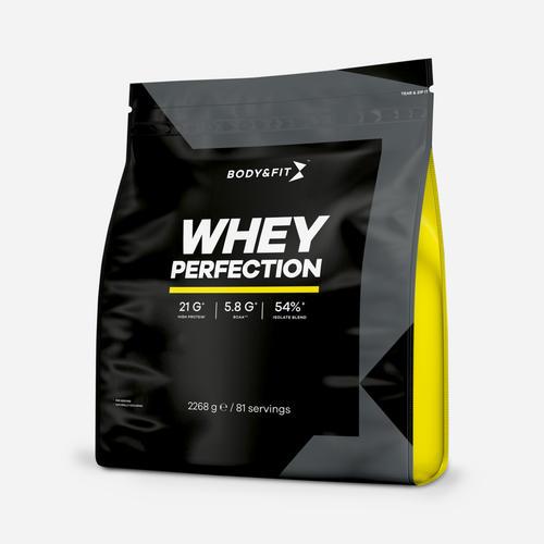 Whey Perfection - Body & Fit - Milkshake Vaniljglass - 2268 Gram (81 Shakes)