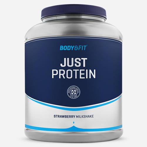 Just Protein - Body & Fit - Milkshake Jordgubb - 2000 Gram (66 Shakes)