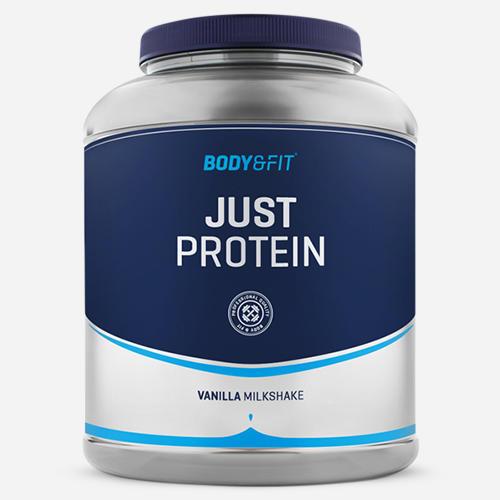 Just Protein - Body & Fit - Milkshake Vanilj - 2000 Gram (66 Shakes)