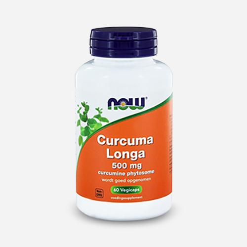 Curcuma Longa 500mg - Now Foods - 60 Kapslar (60)