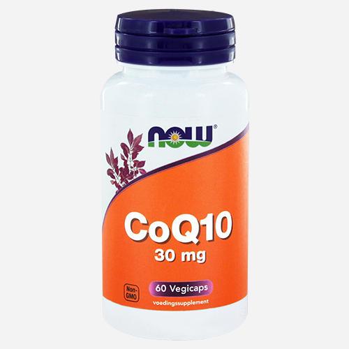 CoQ10 30mg Vegetarian - Now Foods - 60 Grönsakskapslar