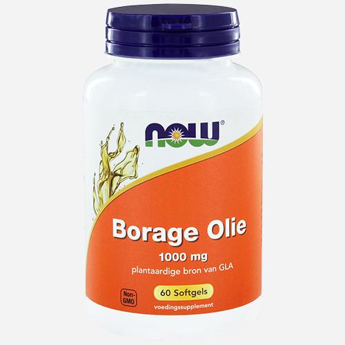 Borage Oil, 240mg GLA - Now Foods - 60 Mjuka Gelégummin