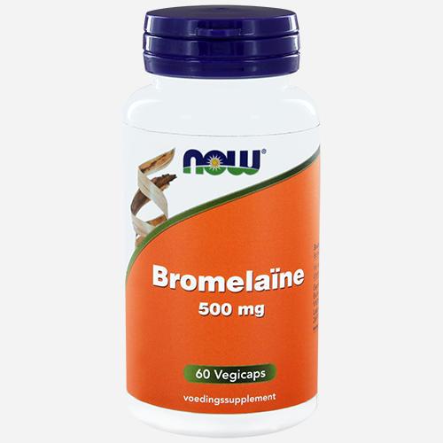 Bromelin 500mg - Now Foods - 60 Grönsakskapslar