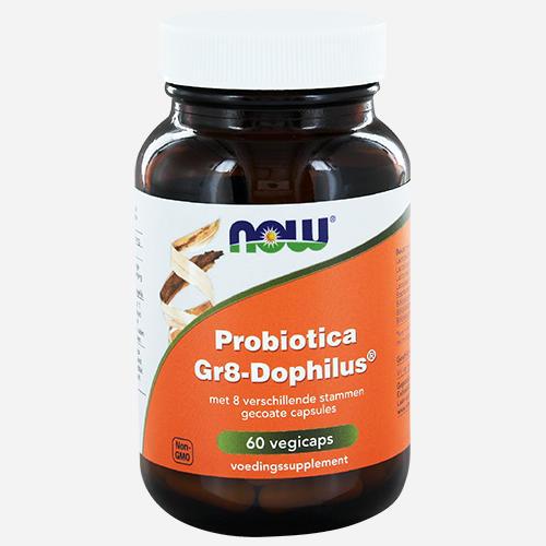 GR8-Dophilus - Now Foods - 60 Grönsakskapslar