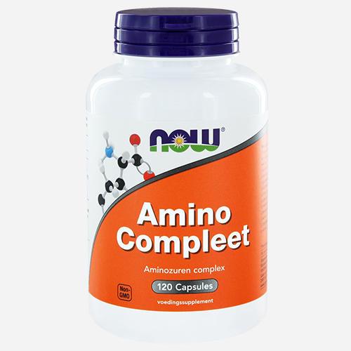 Amino Complete - Now Foods - 120 Kapslar