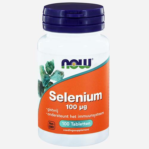 Selenium - Now Foods - 100 Tabletter