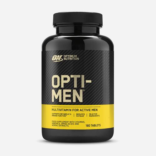 Opti – Men - Optimum Nutrition - Unflavoured - 180 Tabletter (2 Månadsförpackning)