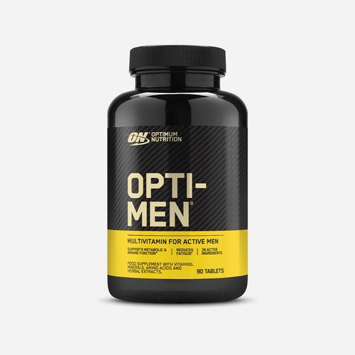 Opti – Men - Optimum Nutrition - Unflavoured - 90 Tabletter (1 Månadsförpackning)