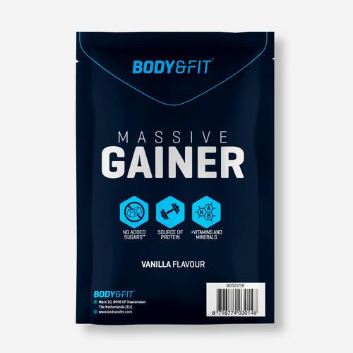Massive Gainer - Body & Fit - Vanilj - 62.5 Gram