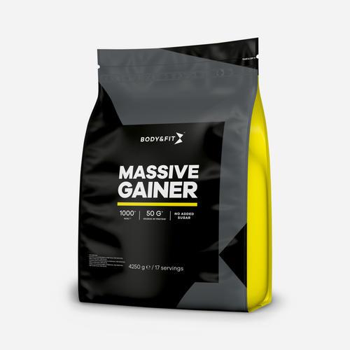 Massive Gainer - Body & Fit - Banan - 4250 Gram (17 Shakes)