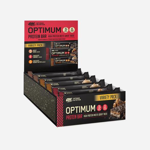 Optimum Protein Bar - Optimum Nutrition - Blandad Förpackning - 600 Gram (10 Bars)