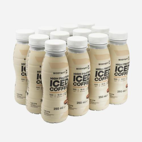 High Protein Iced Coffee - Body & Fit - Iskaffe - 3000 Ml (12 Bitar)