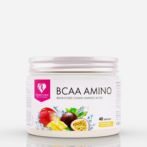 BCAA Amino - Womens Best - Mango Passionsfrukt - 200 Gram (20 Doser)