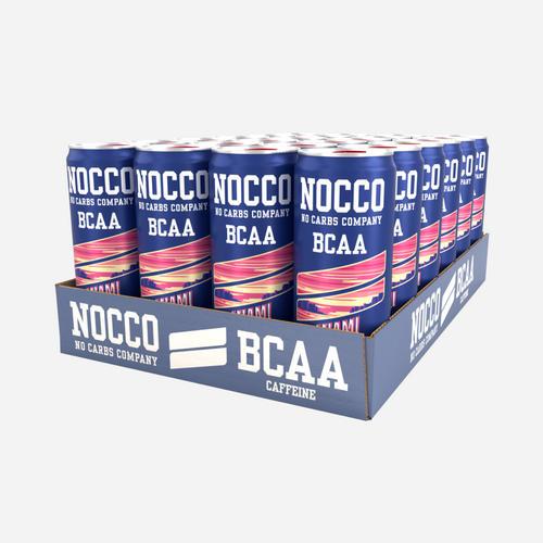 Nocco BCAA Drink - Nocco - No Carbs Company - Jordgubb - 12 Enheter (3960 Ml)