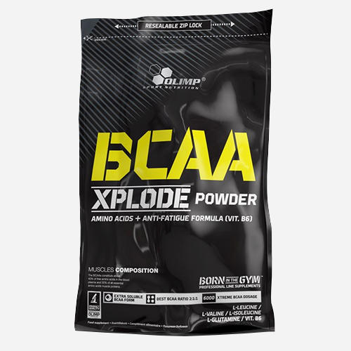 BCAA Xplode - Olimp Supplements - Persika Iste - 500 Gram (50 Doser)