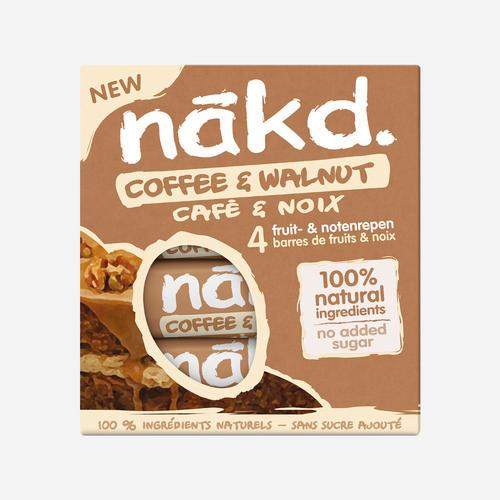NAKD Bar - Nakd - Kaffe Och Valnöt - 4 Bars (4 Bars)