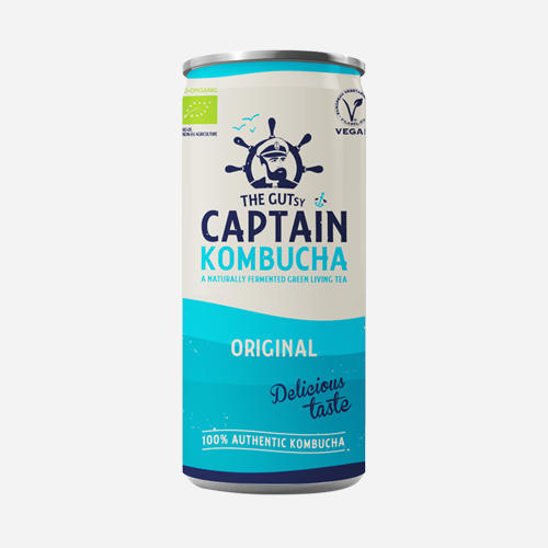 Captain Kombucha - Captain Kombucha - Original - 250 Ml