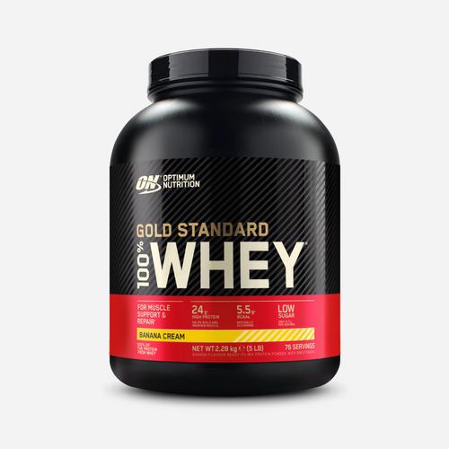 Gold Standard 100% Whey - Optimum Nutrition - Banana - 2270 Gram (73 Shakes)