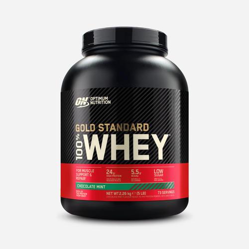 Gold Standard 100% Whey - Optimum Nutrition - Chocolate Mint - 2270 Gram (74 Shakes)