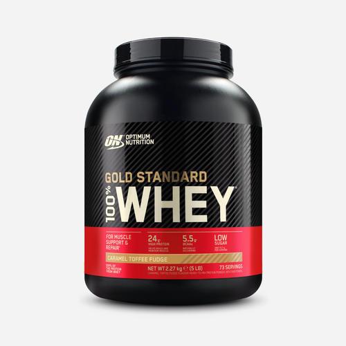 Gold Standard 100% Whey - Optimum Nutrition - Caramel Toffee Fudge - 2270 Gram (71 Shakes)
