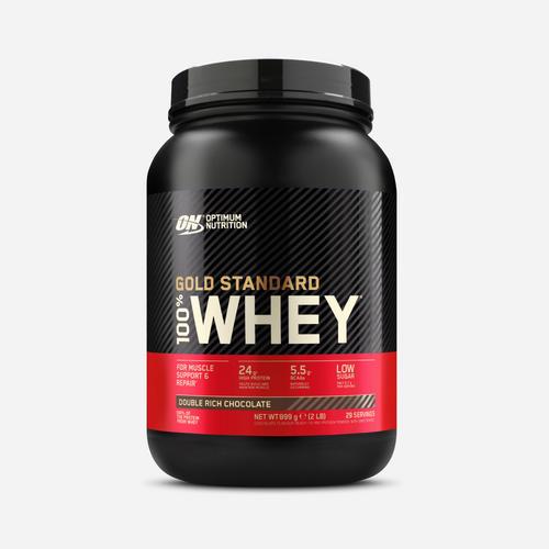 Gold Standard 100% Whey - Optimum Nutrition - Dubbel Fyllig Chokladsmak - 908 Gram (29 Shakes)