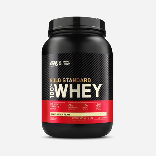 Gold Standard 100% Whey - Optimum Nutrition - Vanilla Ice Cream - 908 Gram (30 Shakes)