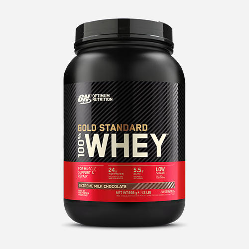 Gold Standard 100% Whey - Optimum Nutrition - Extreme Milk Chocolate - 908 Gram (28 Shakes)