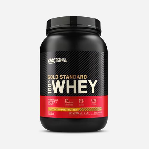 Gold Standard 100% Whey - Optimum Nutrition - Choklad Jordnötssmör - 908 Gram (27 Shakes)