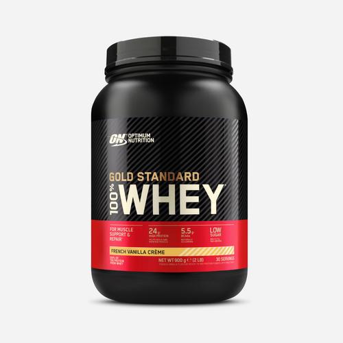 Gold Standard 100% Whey - Optimum Nutrition - Fransk Vanilj - 908 Gram (29 Shakes)