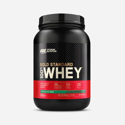 Gold Standard 100% Whey - Optimum Nutrition - Choklad Och Mint - 908 Gram (29 Shakes)