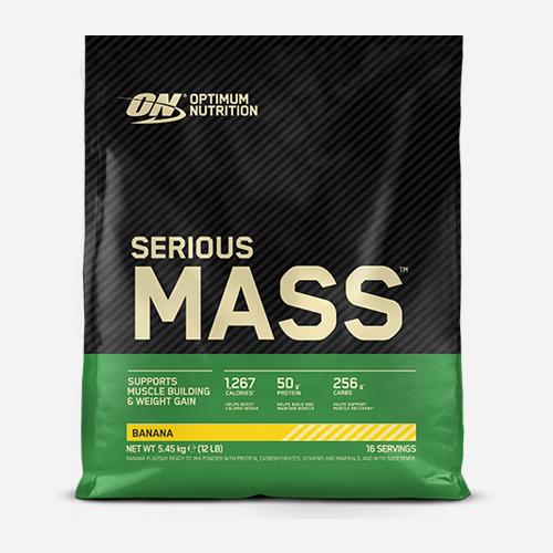 Serious Mass - Optimum Nutrition - Banan - 5455 Gram (16 Shakes)
