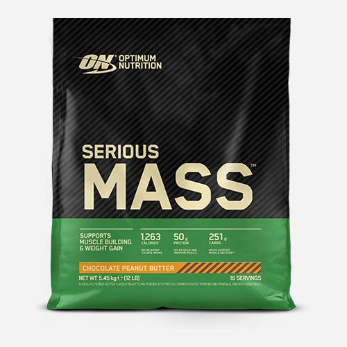 Serious Mass - Optimum Nutrition - Chocolate Peanut Butter - 5455 Gram (16 Shakes)