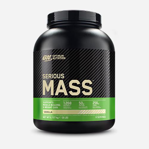 Serious Mass - Optimum Nutrition - Vanilla - 2724 Gram (8 Shakes)