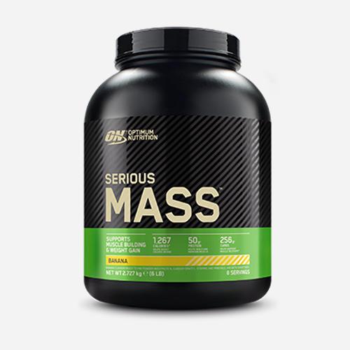 Serious Mass - Optimum Nutrition - Banana - 2724 Gram (8 Shakes)