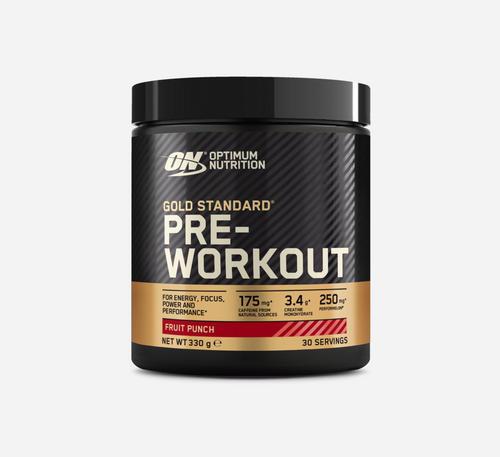 Gold Standard Pre-Workout - Optimum Nutrition - Fruktbål - 330 Gram (30 Doser)