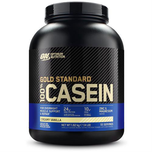 Gold Standard 100% Casein - Optimum Nutrition - Krämig Vanilj - 1816 Gram (56 Shakes)