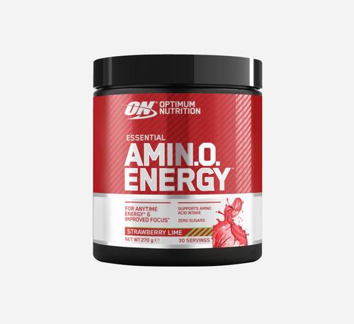 Amino Energy - Optimum Nutrition - Jordgubb Lime - 270 Gram (30 Doser)
