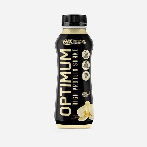Optimal proteinshake - Optimum Nutrition - Vanilj - 330 Ml (10 Flaskor)