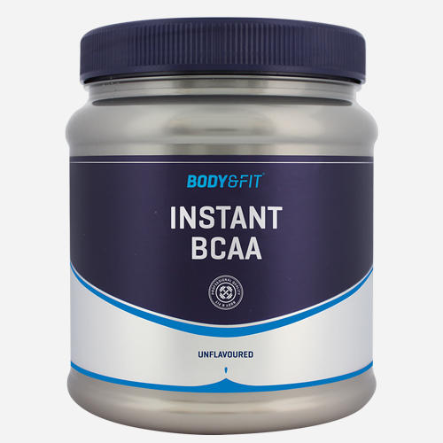 Instant BCAA - Body & Fit - Natural (no Flavour) - 500 Gram (50 Doser)