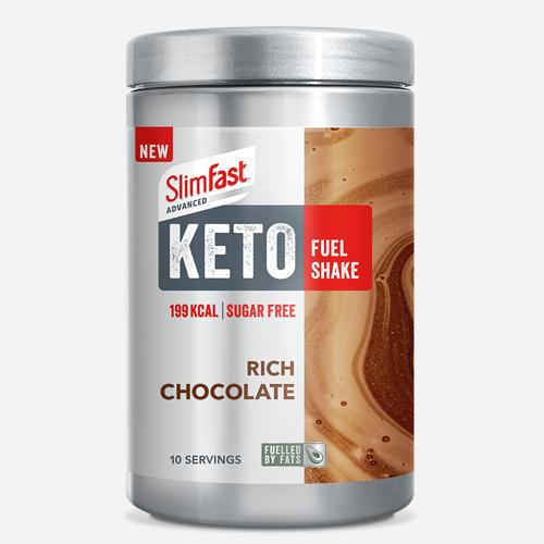Advanced Keto Fuel Shake - Slimfast - Rich Chocolate - 350 Gram (10 Shakes)